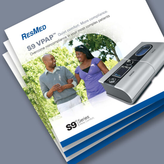 ResMed Trifold brochure cover